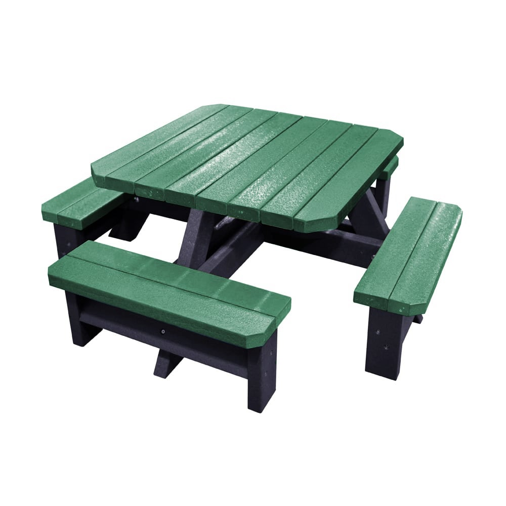 Epworth Infant Picnic Bench Green