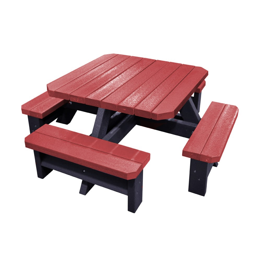 Epworth Infant Picnic Bench Red