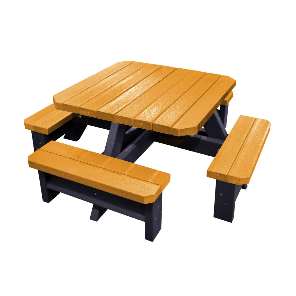 Epworth Infant Picnic Bench Yellow