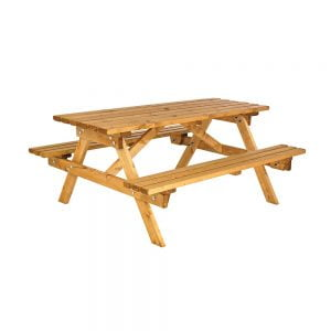 cotswold traditional picnic bench
