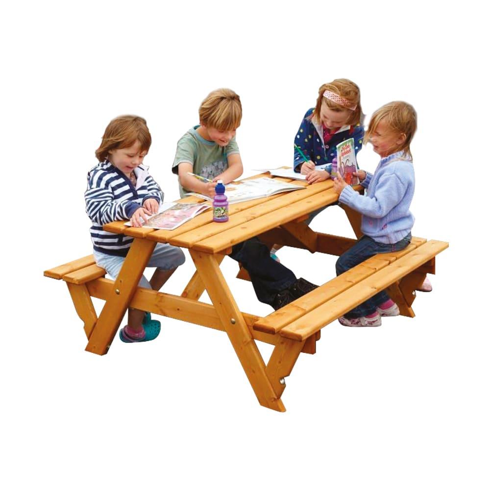 large a frame picnic bench