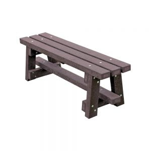 brown branton picnic bench