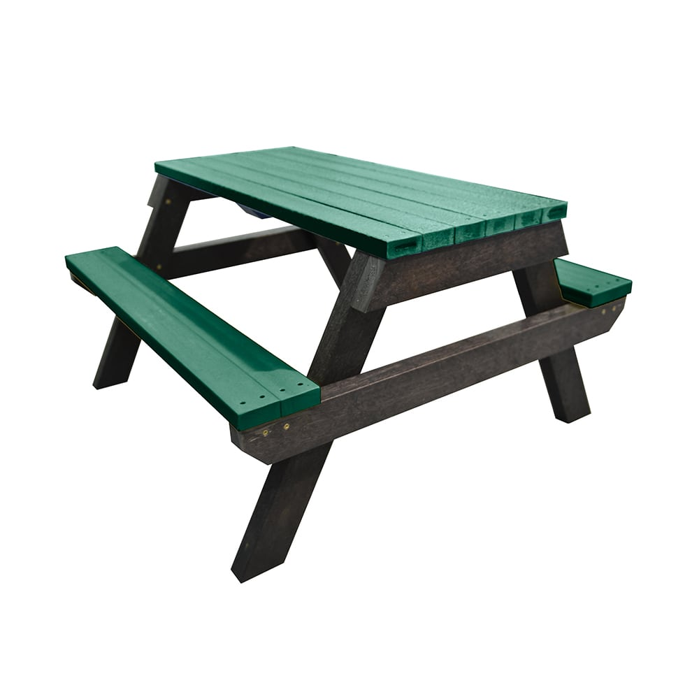 green melton picnic bench