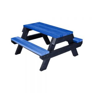 blue cantley early years picnic bench
