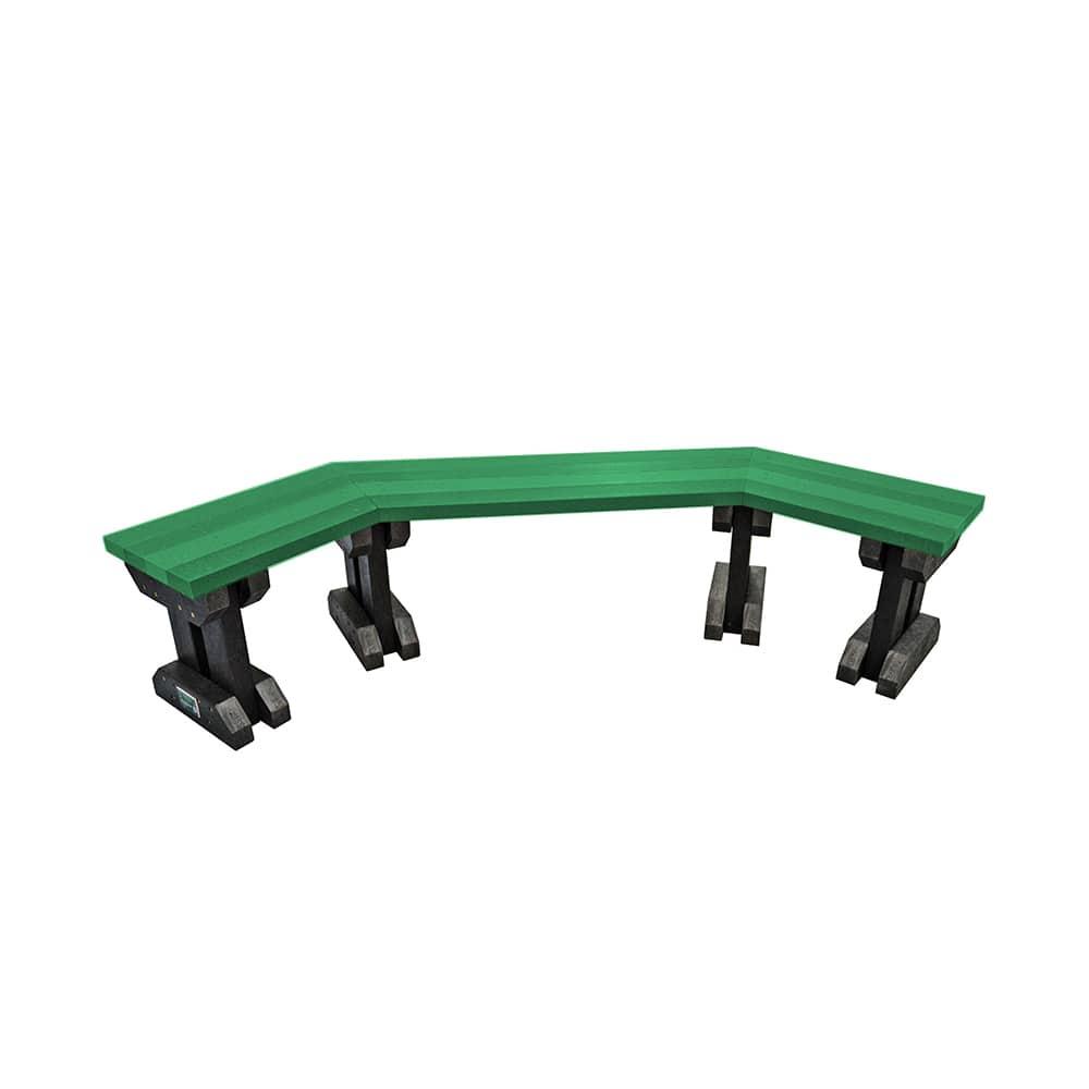 green clifton bench