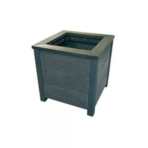 black wheatley planter
