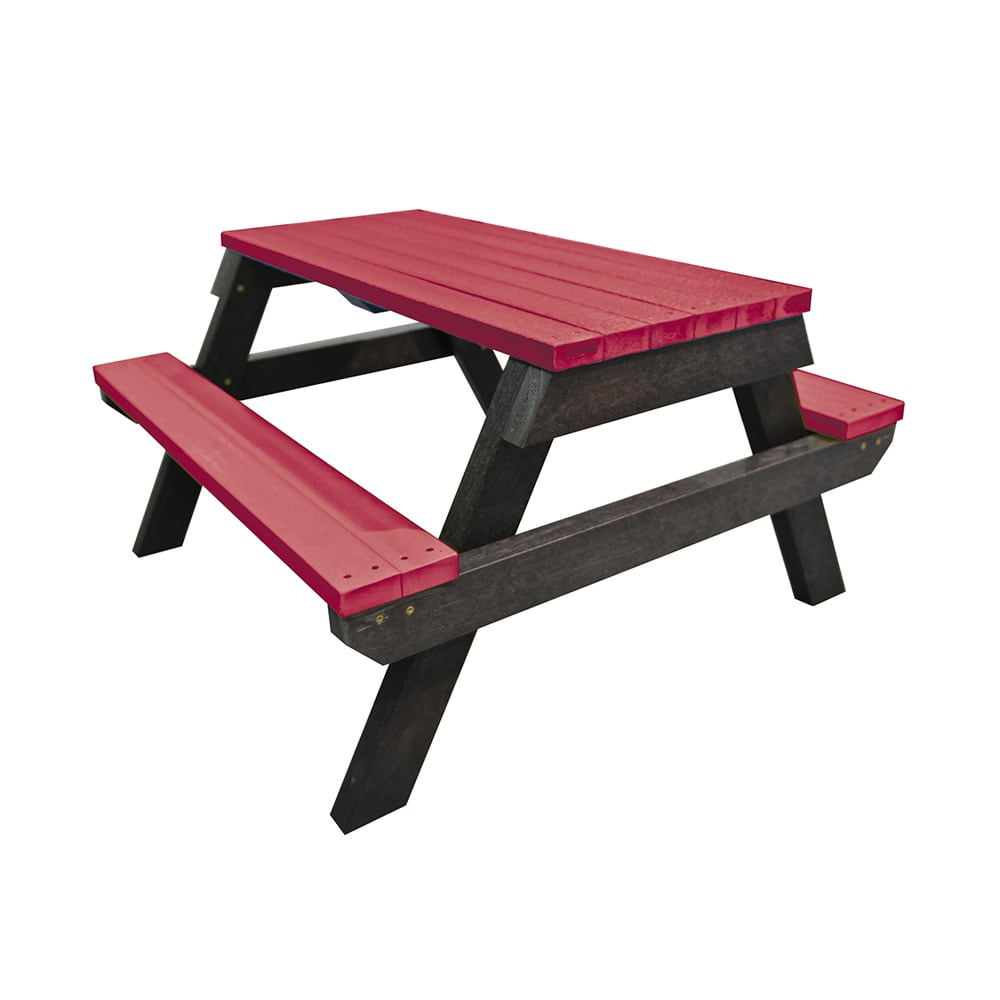 Melton Red Picnic Bench