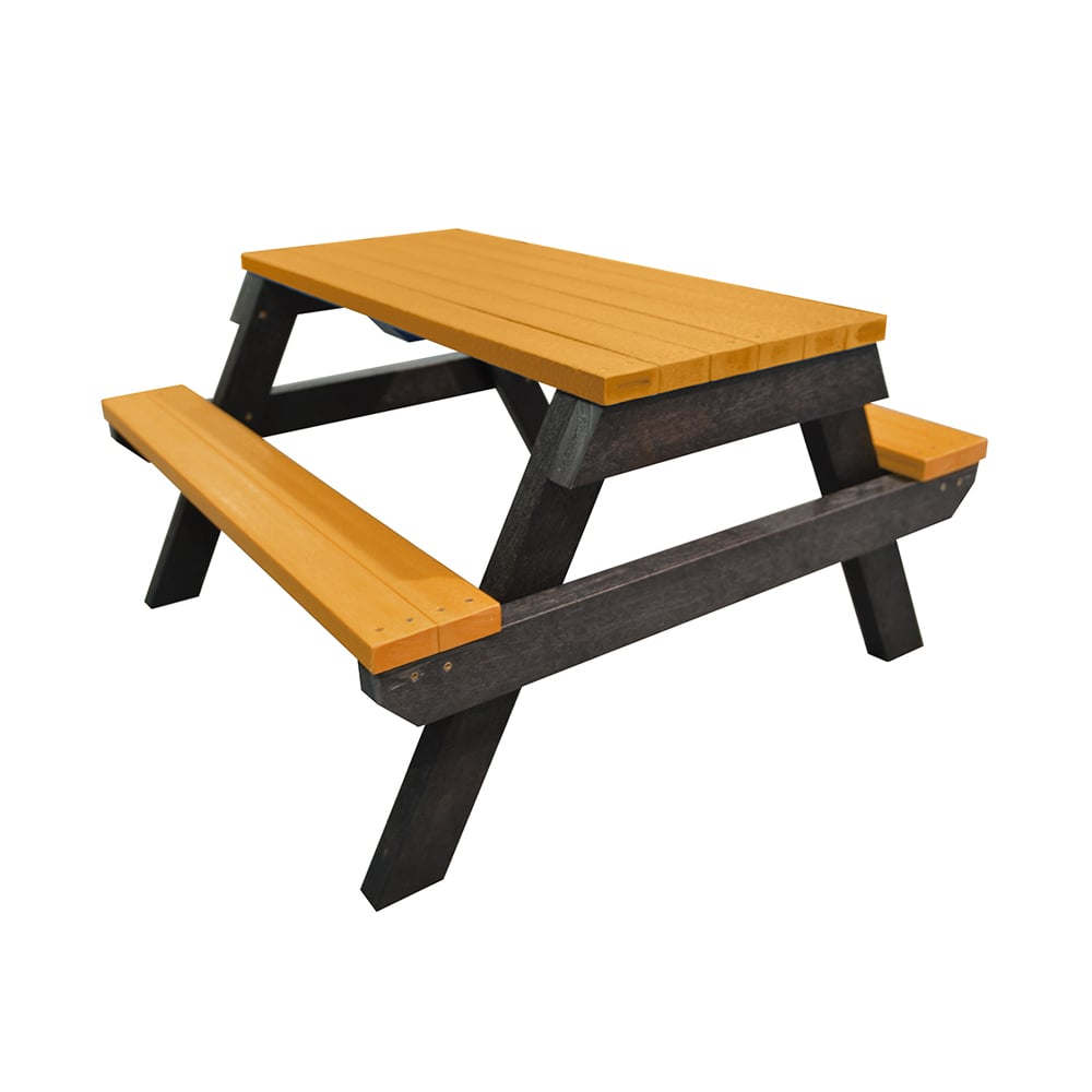 Melton Yellow Picnic Bench