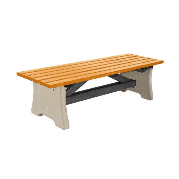 pennine-bench-yellow-top-plain-base